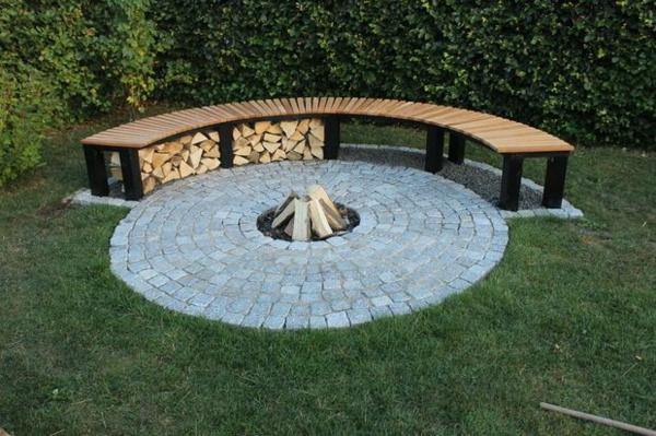 brennholzlagerung zu hause stilvolle und originelle. Black Bedroom Furniture Sets. Home Design Ideas
