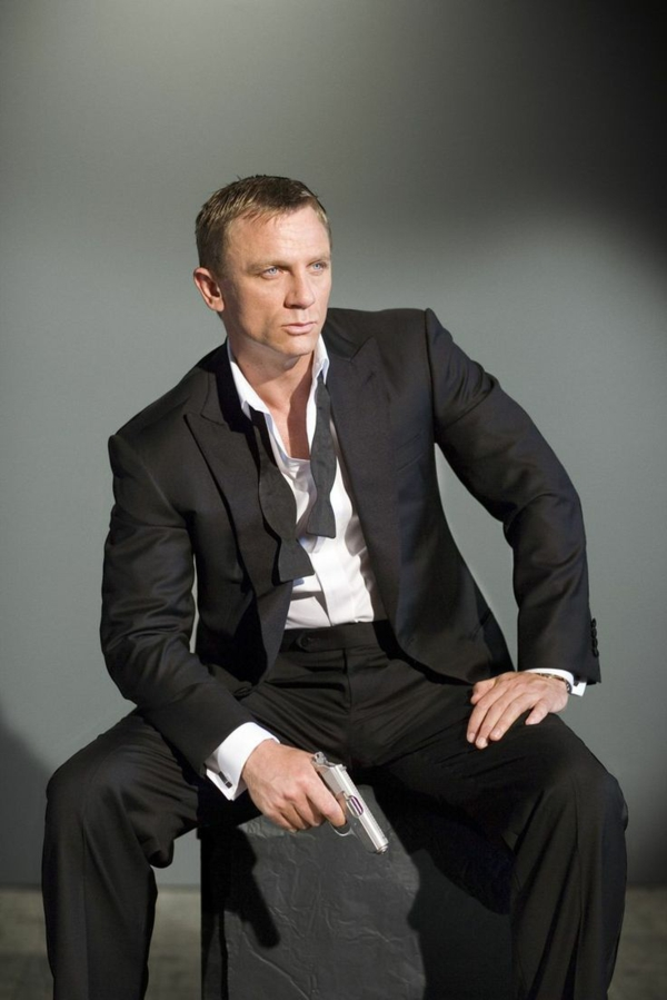 brioni herrenmode italienischer anzug Daniel Craig James Bond