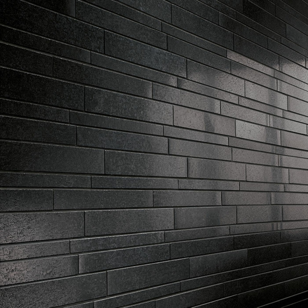concrete ideen schwarz fliesen wand