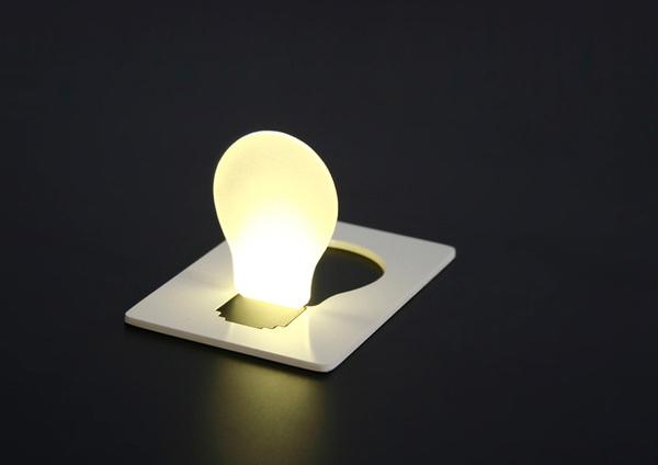 Designer Lampen in Glühbirnenform hosentasche