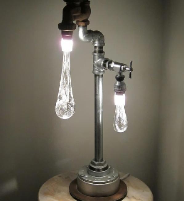 designer lampen glühbirnen stahl