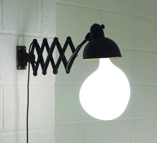 vintage led licht wandlampe glühbirne design