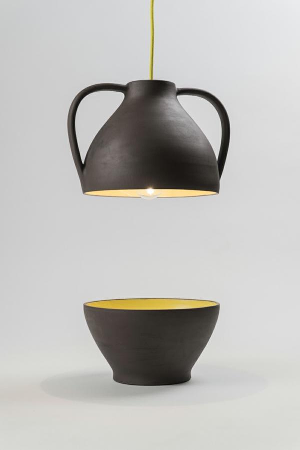 designer leuchten Jar Mejd pendelleucten höhenverstellbar gelb