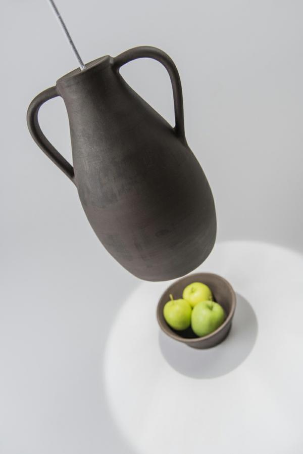 designer leuchten Jar Mejd schale apfel pendelleuchten höhenverstellbar