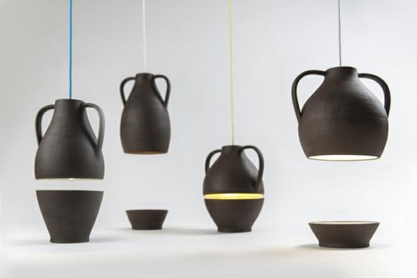 designer leuchten Jar Mejd studio moderne pendelleucten esszimmer