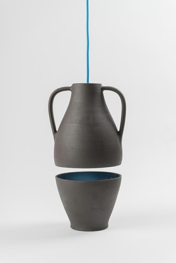 designer leuchten Jar Mejd studio pendelleucten esszimmer blau