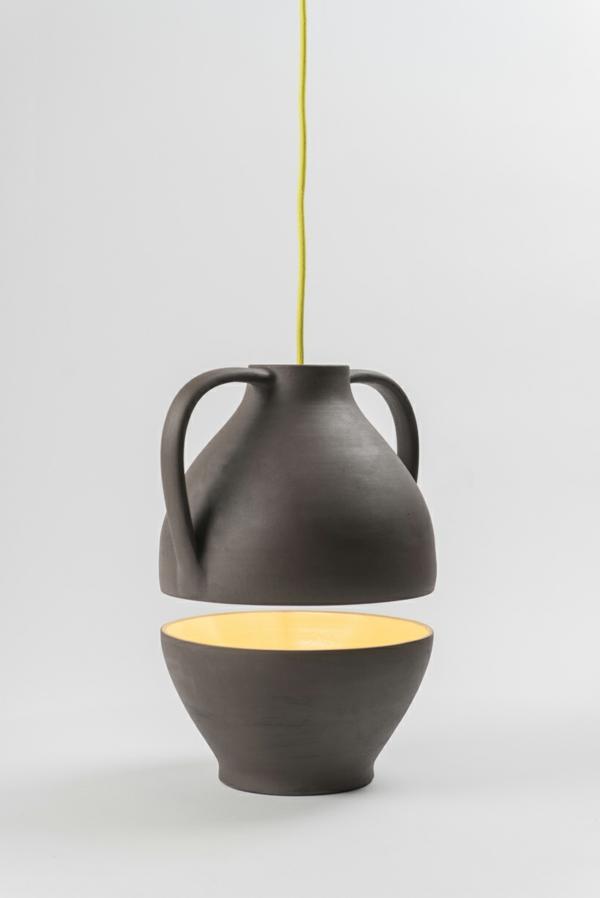 pendelleuchten höhenverstellbar Jar Mejd studio pendelleucten esszimmer gelb