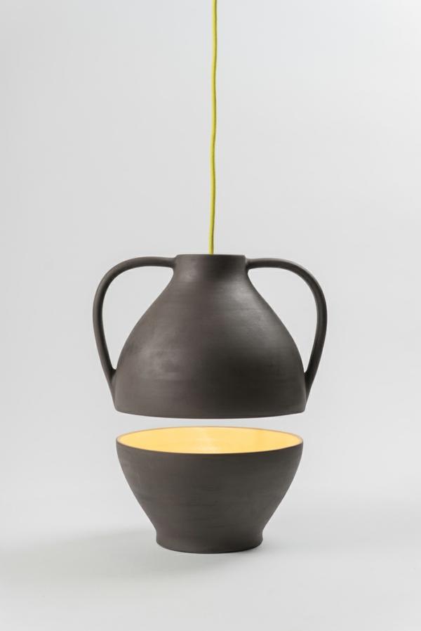 designer leuchten Jar Mejd studio pendelleucten höhenverstellbar gelb