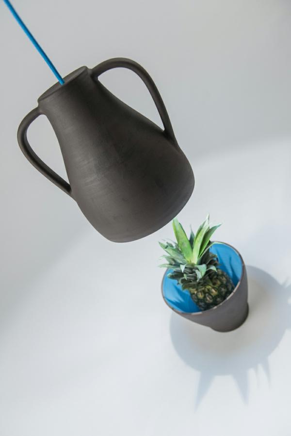 pendelleuchten höhenverstellbar Jar Mejd studio schale ananas pendelleuchten höhenverstellbar