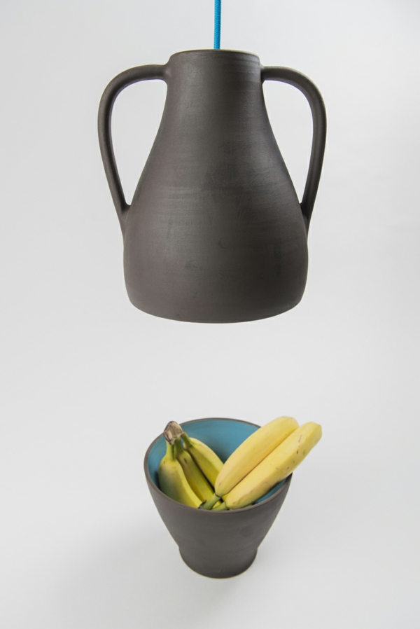designer leuchten Jar Mejd studio schale mit bananen pendelleuchten höhenverstellbar