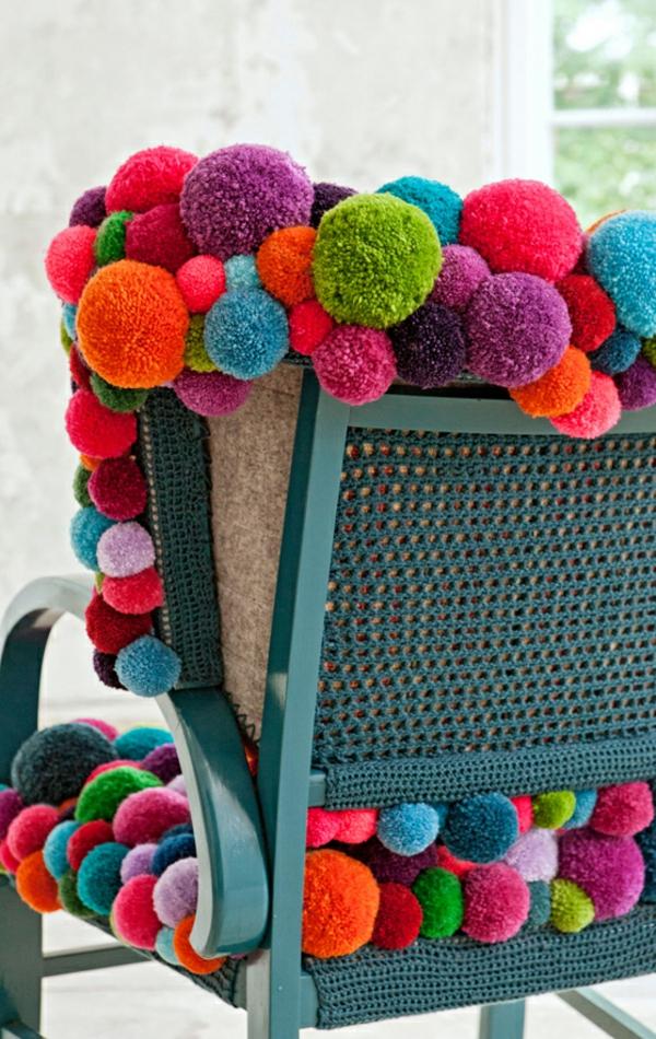 Design von Myra Klose MYK pompon chair