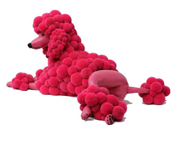 designer möbel pinke bommel MYK Poodlepink