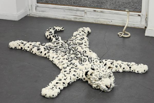 designer teppiche MYK Snowleopard