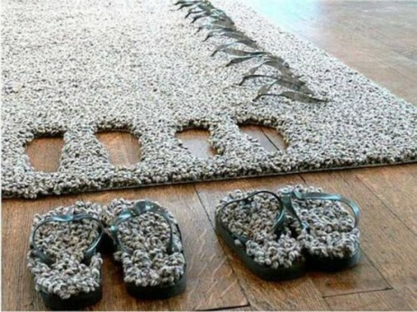 25 aufgefallene designer teppiche für jeden wohnraum, Wohnzimmer
