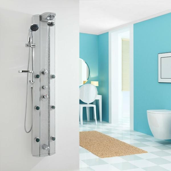 duschpaneele modern luxus badmöbel set kleines bad einrichten
