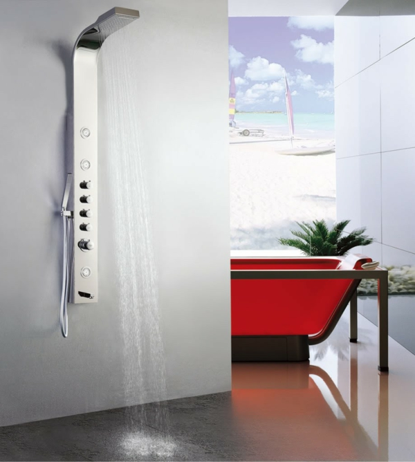 duschpaneele modern luxus badmöbel set