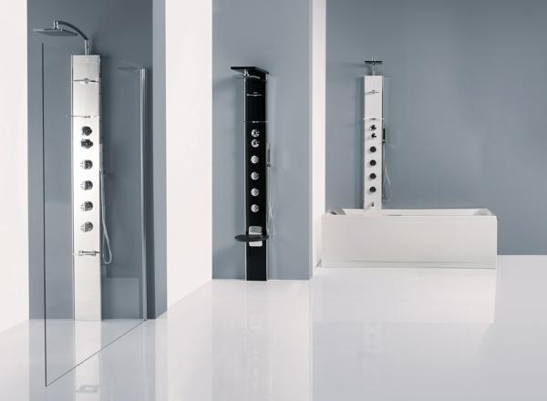 duschpaneele moderne badarmaturen badmöbel set