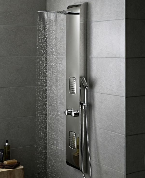 duschpaneel moderne badeinrichtung badmöbel ideen
