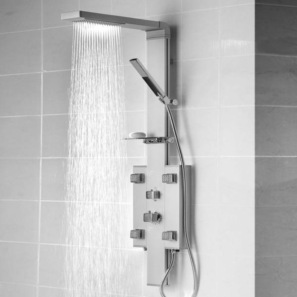 duschpaneel moderne badeinrichtung badmöbel set