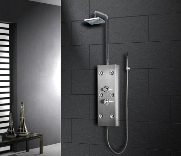 duschpaneel moderne badeinrichtung luxus badmöbel