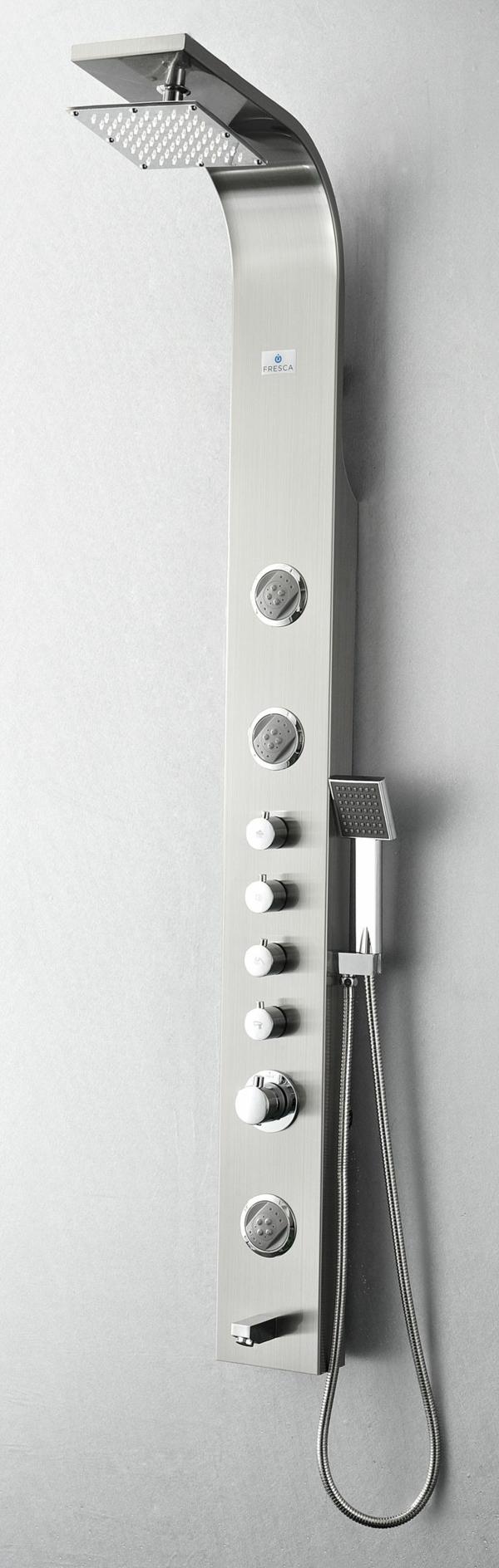 duschpaneel moderne badezimmereinrichtung badmöbel ideen