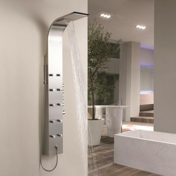 duschpaneele sorgen f r eine moderne badezimmergestaltung. Black Bedroom Furniture Sets. Home Design Ideas