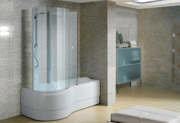 duschwand für badewanne dusche kleine wandfliesen