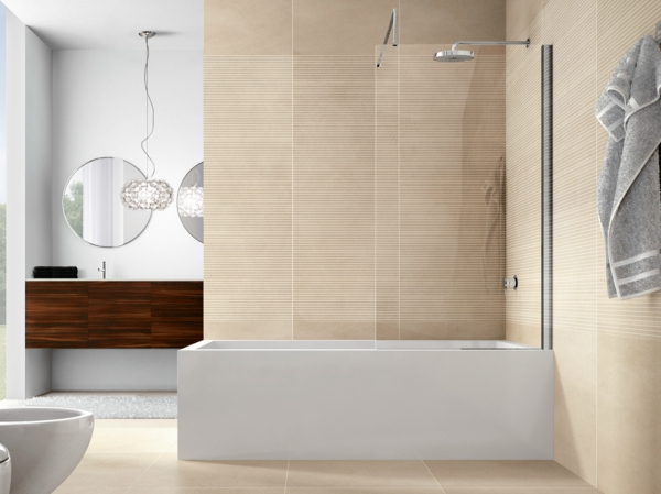 duschwand für badewanne glas runde badspiegel