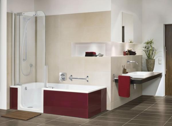 duschwand für badewanne glas stilvoll tolle wanne