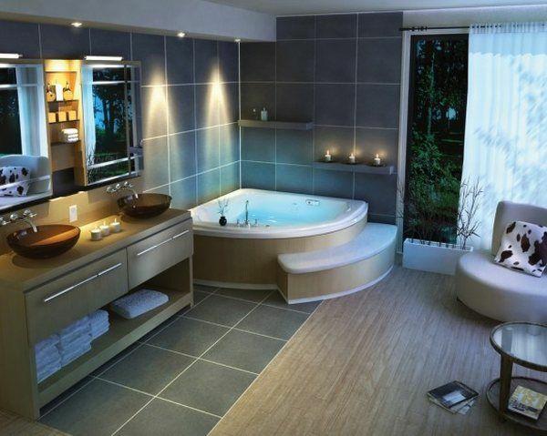 Eckbadewanne – eine der tollsten Optionen für Ihr Badezimmer