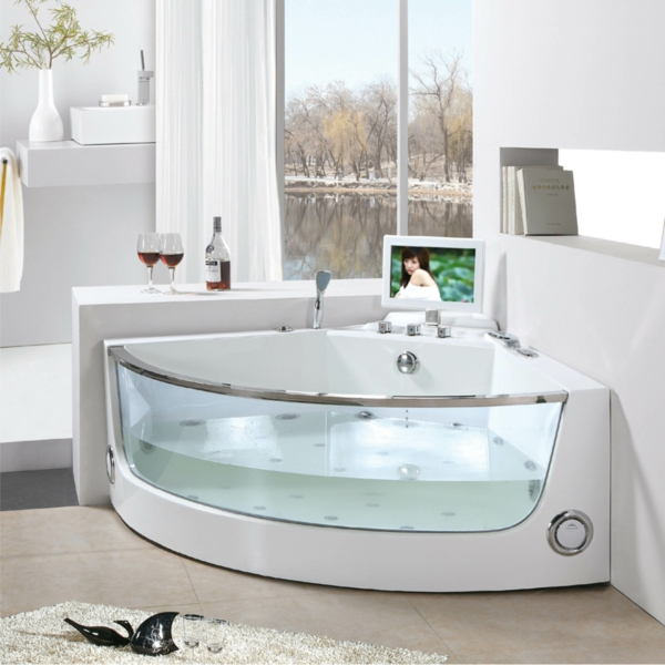 Eckbadewanne eine der tollsten optionen f r ihr badezimmer for Badezimmer ideen eckbadewanne
