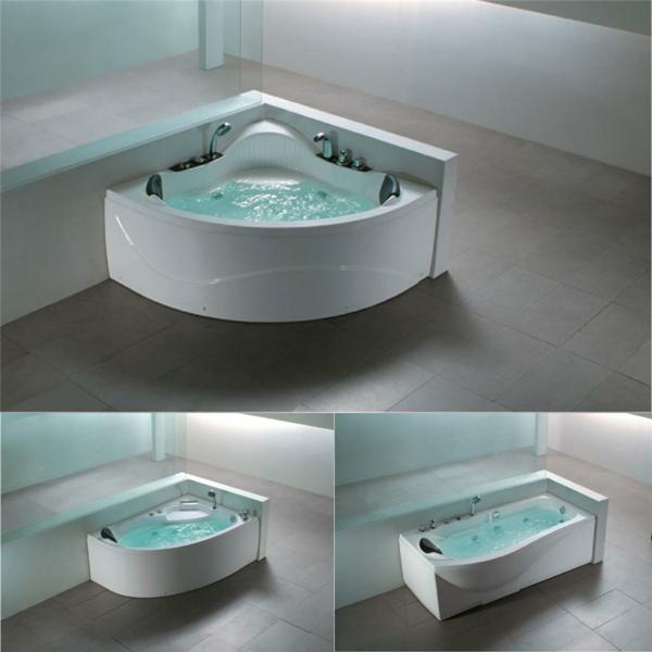 Eckbadewanne eine der tollsten optionen f r ihr badezimmer for Eckbadewanne mit whirlpool
