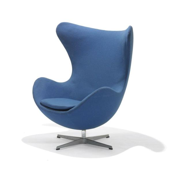 Sessel modern  Verblüffende Ei Sessel peppen das Innendesign auf