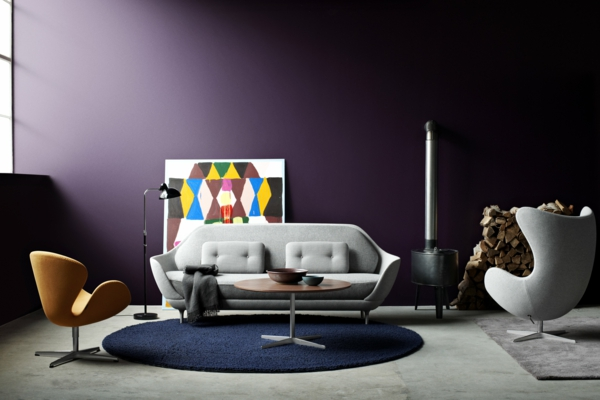 fritz hansen sessel das ei: designklassiker: sessel roomido., Hause deko