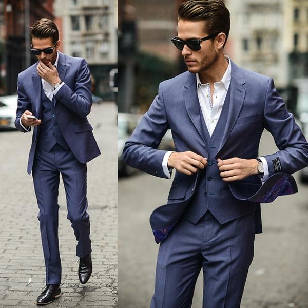Englischer Anzug Klassische Eleganz Fur Modebewusste Manner