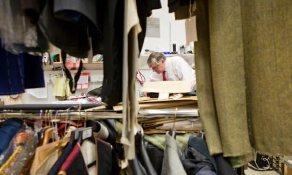 englischer anzug herrenmode männer anzug Savile Row schneiderei