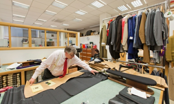 englischer anzug herrenmode männer anzug Savile Row schnitt