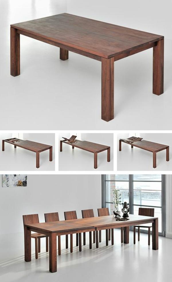 Esszimmermöbel aus Massivholz - Einrichtungsideen im rustikalen Stil