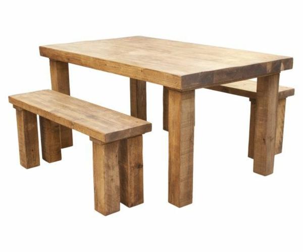 esszimmerm bel aus massivholz einrichtungsideen im rustikalen stil. Black Bedroom Furniture Sets. Home Design Ideas