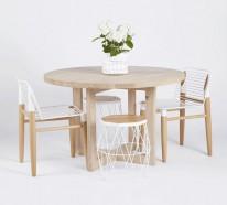 Esszimmermöbel aus Massivholz – Einrichtungsideen im rustikalen Stil