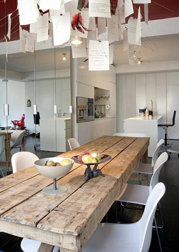 esszimmermöbel massiv esszimmertisch mit stühlen massivholzmöbel günstig Hudson Furniture