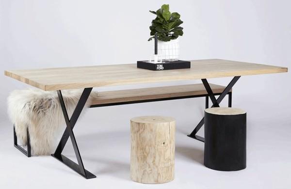 Esszimmermöbel Aus Massivholz U2013 Einrichtungsideen Im Rustikalen Stil