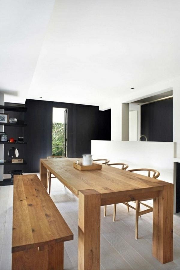 esszimmermöbel massiv esszimmertisch mit stühlen massivholzmöbel