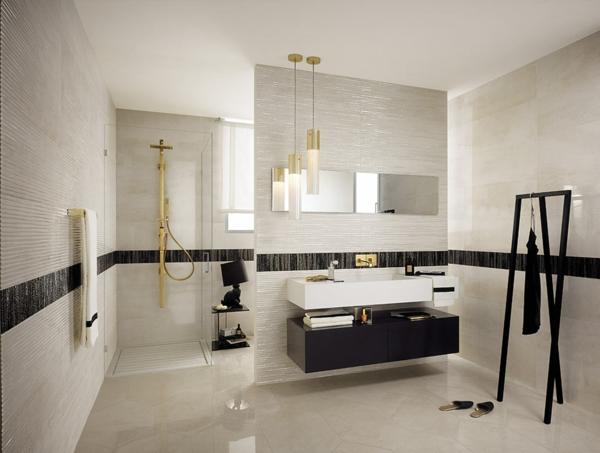 evoque trennwand badezimmer lampen spiegel