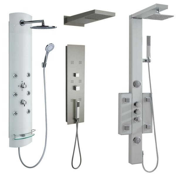 duschpaneele moderne badeinrichtung badmöbel set