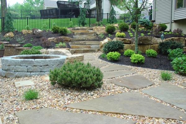 Den garten mit steinen gestalten sch ne for Garten mit pflanzen gestalten