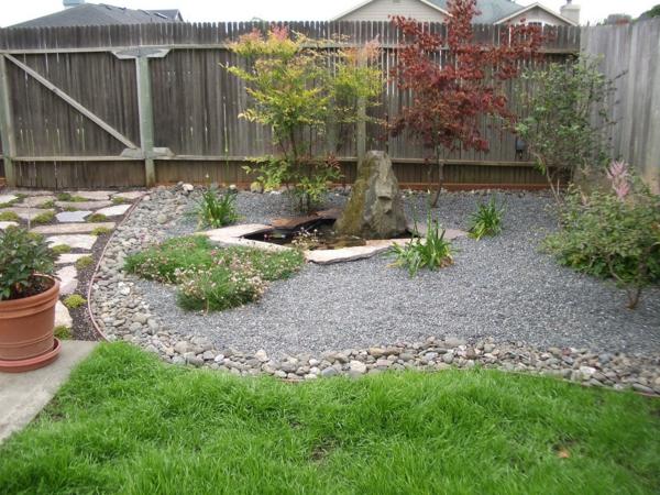 Den Garten Mit Steinen Gestalten Schone Gartengestaltungsideen