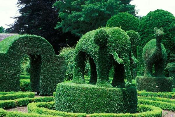 Grüne Gartenskulpturen Im Einklang Mit Der Natur Lebendige Skulpturen Im Garten Atlanta