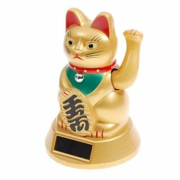 glücksbringer bedeutung goldene katze japan