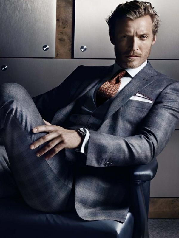 herrenmode italienischer anzug italienische mode männer anzug